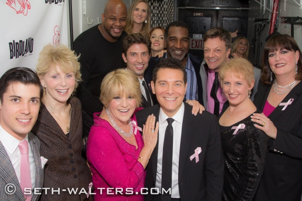 Photo Flash: Lorna Luft, Liza Minnelli, Norm Lewis, Nick Adams & More Celebrate LORNA'S PINK PARTY at Birdland!