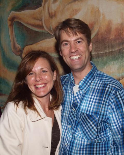 Kim Huber and Roger Befeler