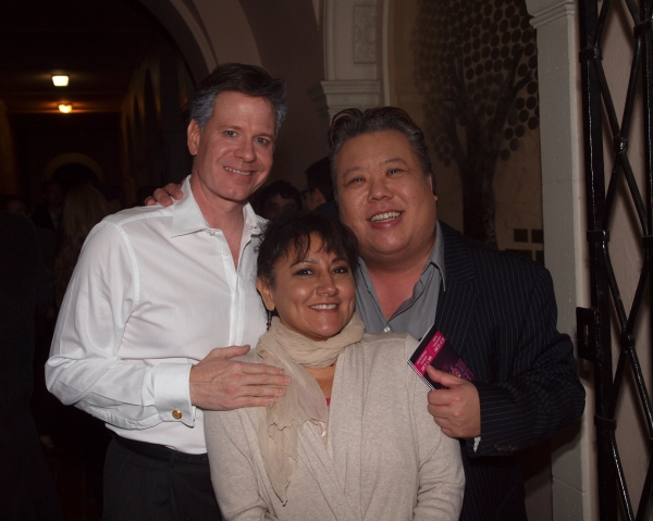 Christopher Carothers,Danielle Barbosa, and Daniel G. Lam Photo