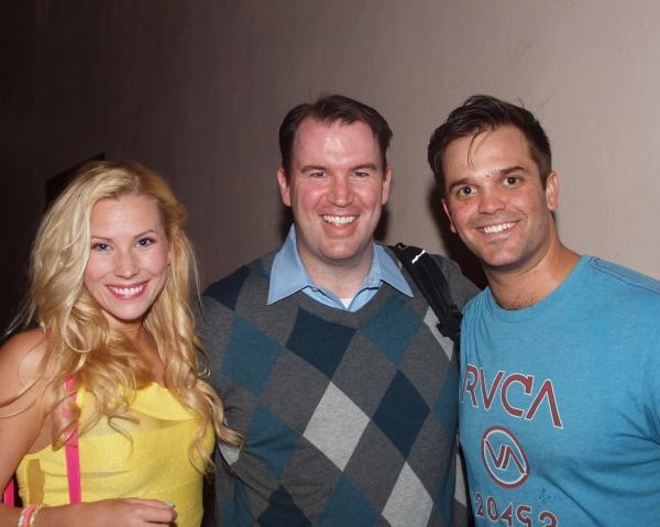 Emma Degerstedt, Brad Fitzgerald, and Cameron Sczempka Photo