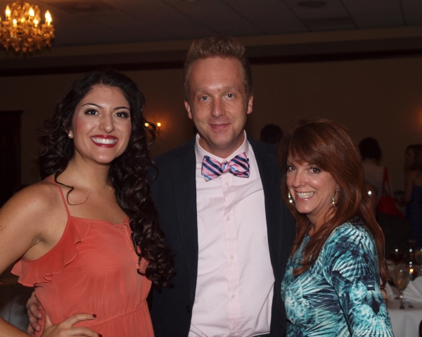 Laleh Khorsandi, Director David F.M. Vaughn, and Choreographer Linda Love Simmons