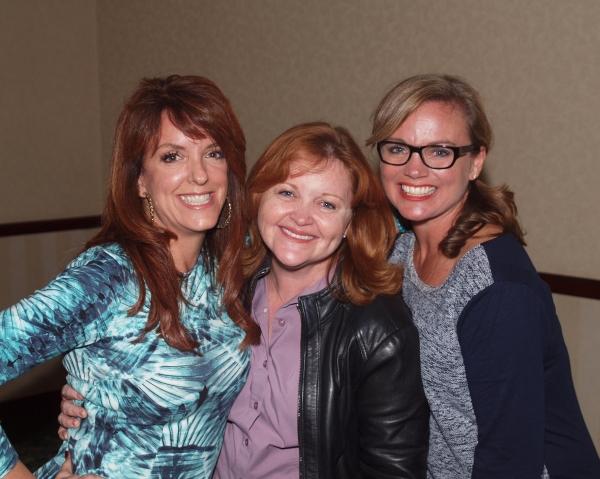 Linda Love Simmons, Shauna Markey, and Robin Trowbridge
