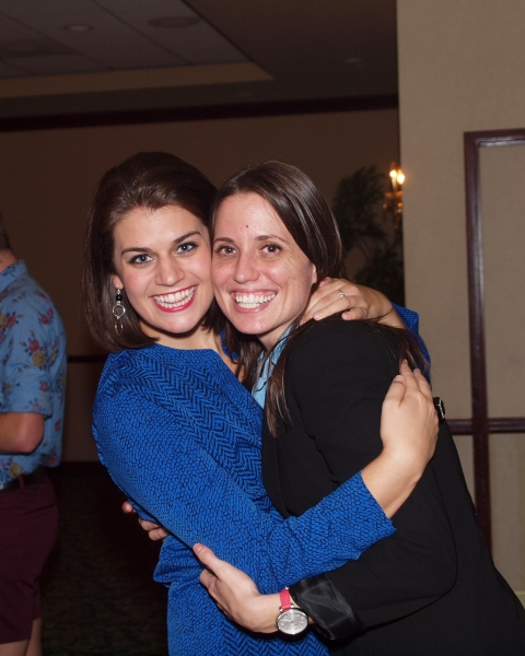 Kristen Lamoureux and Co-Producer Gretchen Dawson