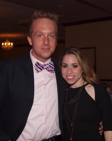 David F.M. Vaughn and Sydney Blair