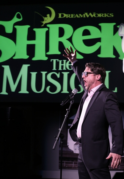 Photo Coverage: Daniel Breaker, Christopher Sieber and More Perform at SHREK DVD Release Party!