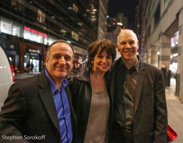 Adam Heller, Beth Leavel, David Zippel Photo