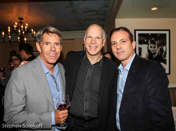 Michael Johnson, David Zippel, Jack Gindi Photo