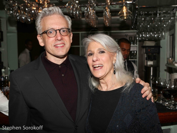 Jamie deRoy & Donald Margulies, Playwright