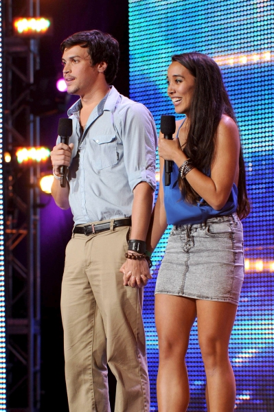THE X FACTOR: TOP 16: Alex & Sierra: Sierra Deaton, 22.	Hometown: Orlando, FL	            Alex Kinsey	, 22 . 	Hometown: New Smyrna Beach, FL