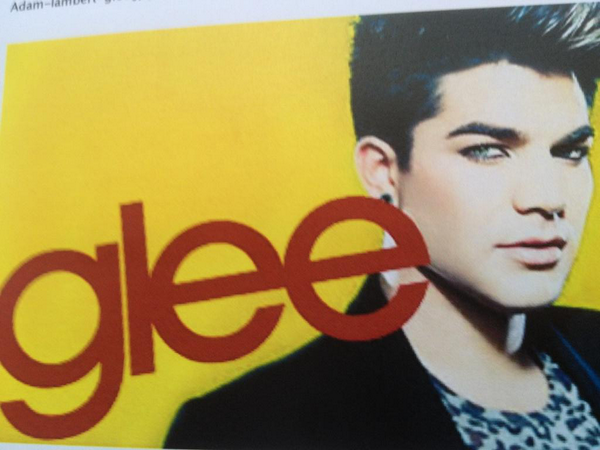 Ryan Murphy Tweets New Look At Adam Lambert On GLEE