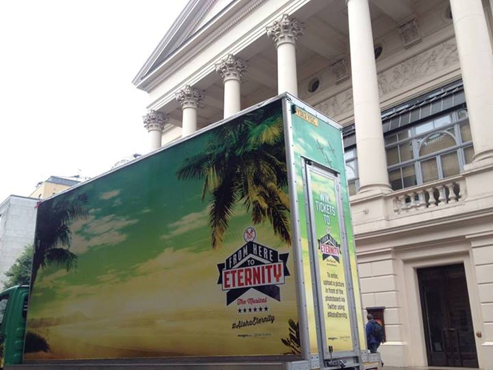 FROM HERE TO ETERNITY Launches Mobile Photo Truck Promotion