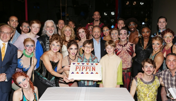 FREEZE FRAME: Cast of PIPPIN Celebrates 200th Performance!