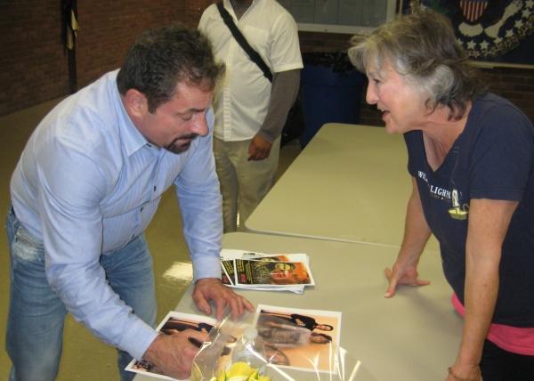 Jerry Torre meets Carolyn Kirsch (Big Edie)