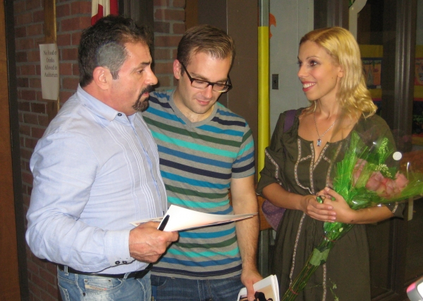 Jerry Torre with Ian Lynch-Passarelli (Joseph Kennedy, Jr./Jerry) and Anne Collin (Young Little Edie)