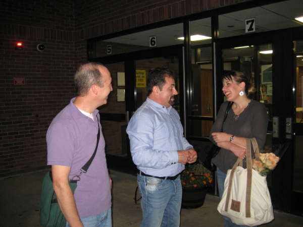Dan Ringuette (George Gould Strong), Jerry Torre and Kelly Boucher (Edith/Little Edie)