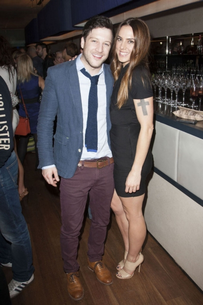 Matt Cardle and Melanie Chisholm
