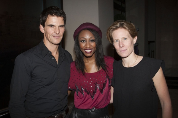 Tristan Gemmill, Beverley Knight and Thea Sharrock