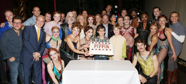 Producer Howard Kagan, Matthew James Thomas, Terrence Mann, Tovah Feldshuh, Rachel Bay Jones, Charlotte d''Amboise, Producer Barry Weissler, Phillip Rosenberg, Gregory Arsenal, Anthony Wayne, Patina Miller, Erik Altemus and Company