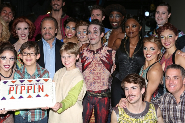 Charlotte d''Amboise, Producer Barry Weissler, Phillip Rosenberg, Gregory Arsenal, Anthony Wayne, Patina Miller, Erik Altemus and Company