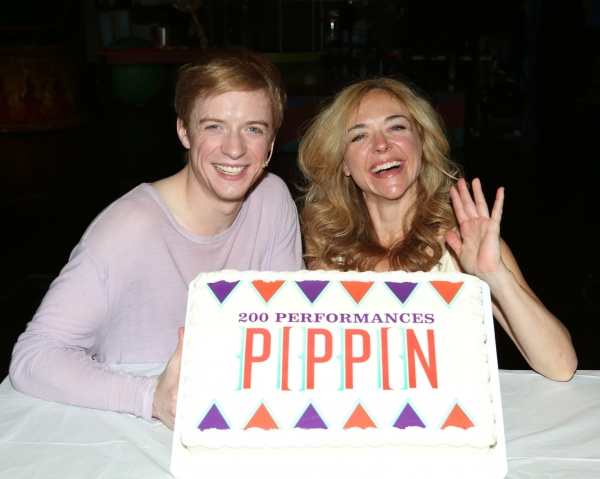 Photo Coverage: Cast of PIPPIN Celebrates 200 Performances on Broadway!