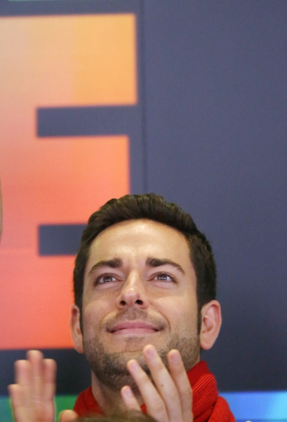 Photo Coverage: FIRST DATE's Krysta Rodriquez and Zachary Levi Ring the NASDAQ Closing Bell