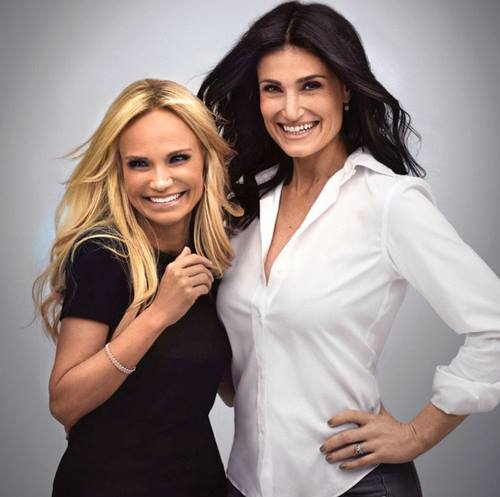 Idina Menzel & Kristin Chenoweth Smile Big For New WICKED Reunion Photo