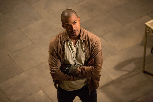 The Originals -- ''Sinners and Saints'' -- Image Number: OR105a_0303.jpg -- Pictured: Charles Michael Davis as Marcel -- Photo: Bob Mahoney/The CW -- © 2013 The CW Network, LLC. All rights reserved