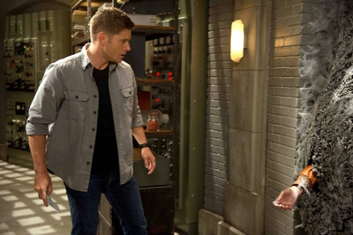 Supernatural -- ''Slumber Party'' -- Image SN904a_0084 -- Pictured: Jensen Ackles as Dean -- Credit: Diyah Pera/The CW --  © 2013 The CW Network, LLC. All Rights Reserved
