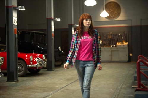 Supernatural -- ''Slumber Party'' -- Image SN904b_0074 -- Pictured: Felicia Day as Charlie -- Credit: Diyah Pera/The CW --  �''© 2013 The CW Network, LLC. All Rights Reserved