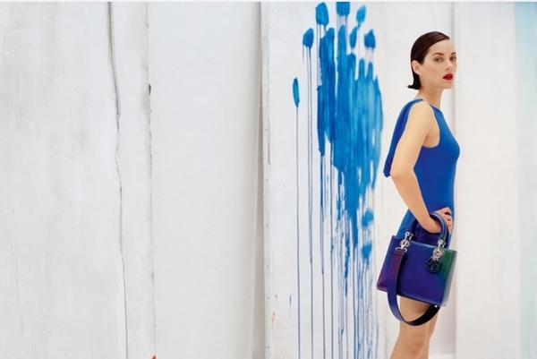 Marion Cotillard in Dior campaign