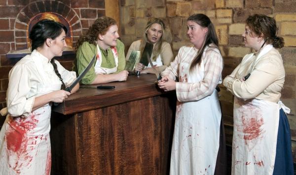 Photo Flash: Meet the Cast of Spark Theater's THE GUT GIRLS