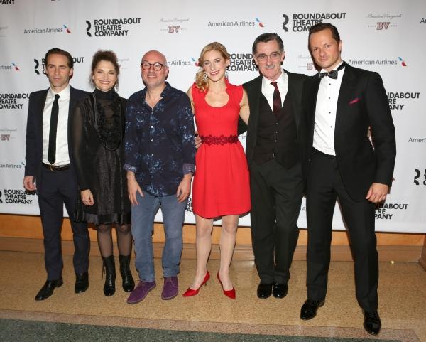 Alessandro Nivola, Mary Elizabeth Mastrantonio, Directpor Lindsay Posner, Charlotte Parry, Roger Rees and Chandler Williams