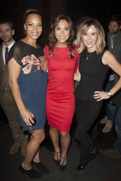 Angela Griffin (Dolly), Myleene Klass and Amanda Holden