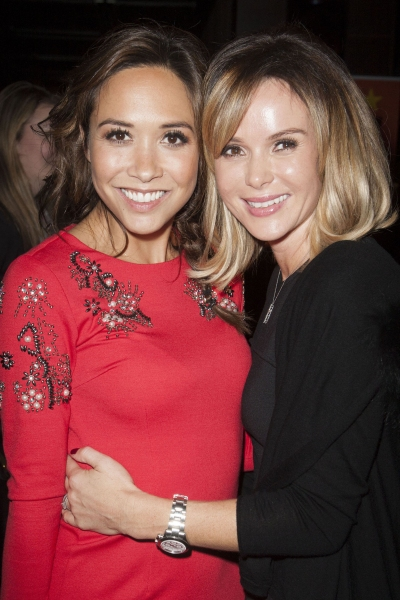 Myleene Klass and Amanda Holden