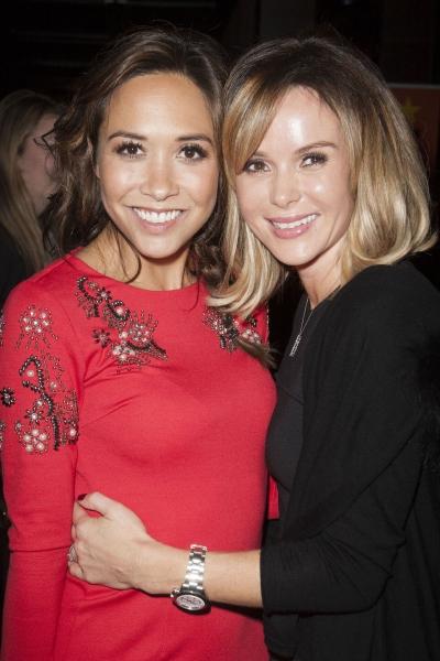 Myleene Klass and Amanda Holden
