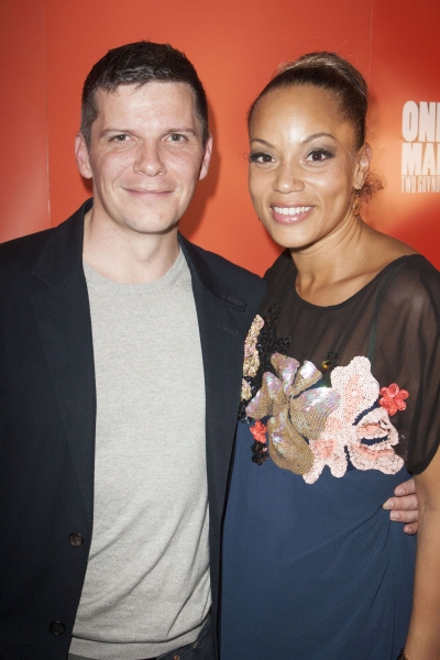 Nigel Harman and Angela Griffin (Dolly)