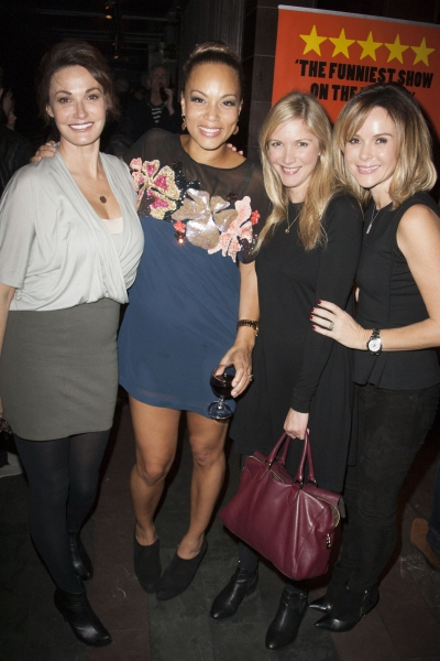 Sarah Parish, Angela Griffin (Dolly), Lisa Faulkner and Amanda Holden Photo