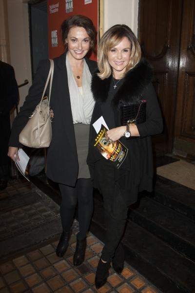 Sarah Parish and Amanda Holden  Photo