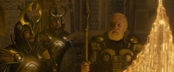 ''Marvel''s Thor: The Dark World''..Odin (Anthony Hopkins)..Ph: Film Frame..© 2013 MVLFFLLC. TM & © 2013 Marvel. All Rights Reserved.