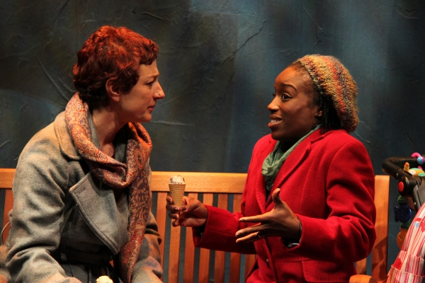 Lise Bruneau (Jane) and Felicia Curry (Marrell)