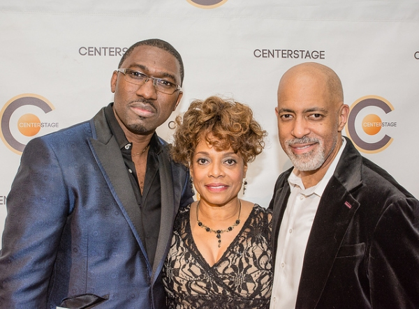 Kwame Kwei-Armah, Denise Burse and Michael Genet