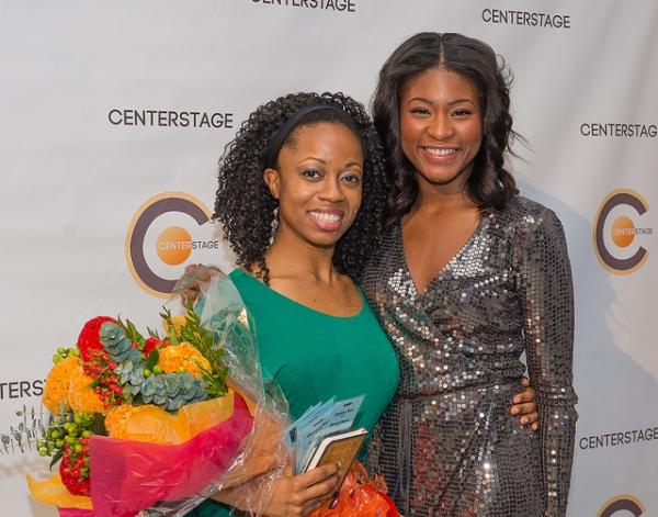 Chandra Thomas and Jasmine Carmichael Photo