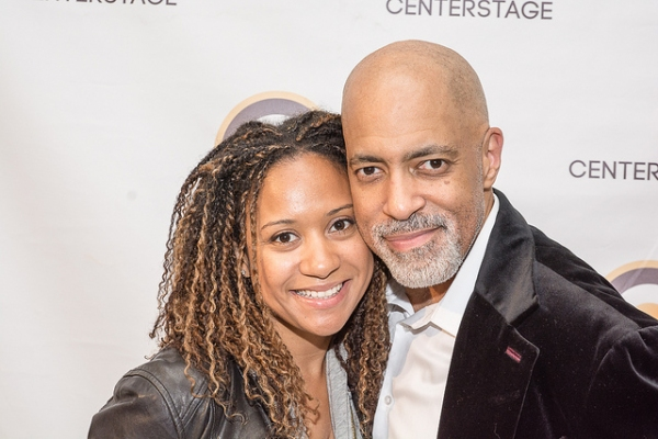 Tracie Thoms and Michael Genet