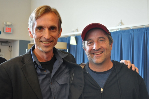 Director Joe Chvala with Actor J.C. Cutler