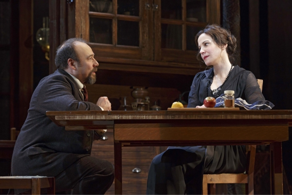 Danny Burstein and Mary-Louise Parker