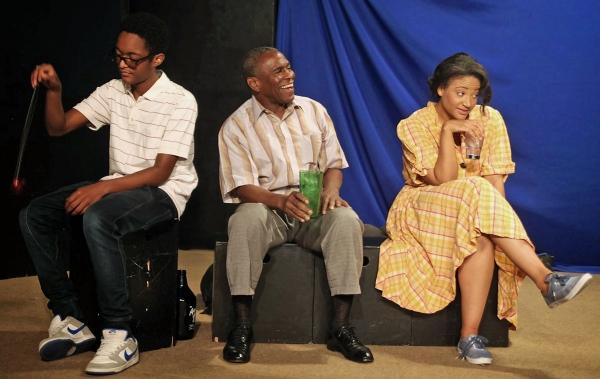 Khadim Diop, Kim Sullivan, Shirley Quigley Photo