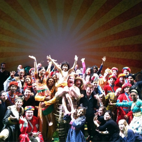 Photo Flash: Saturday Intermission Pics - Oct 19 - Last SIPs - BLUEBIRD OF HAPPINESS in Manila, JUNGLE BOOK and More!