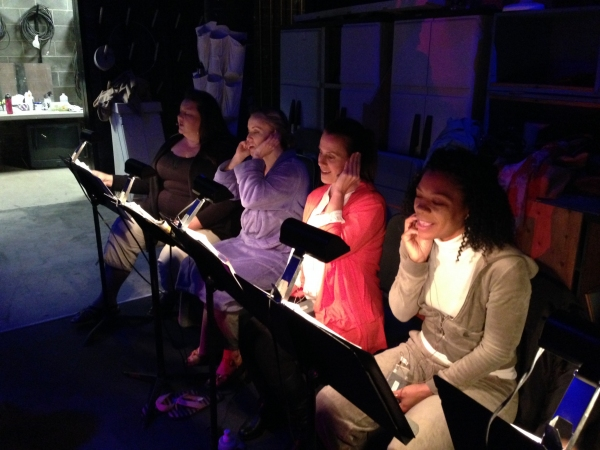 Heidi Anderson, Jennifer Evans, Janna Lyn Cardia, Nicole Powell