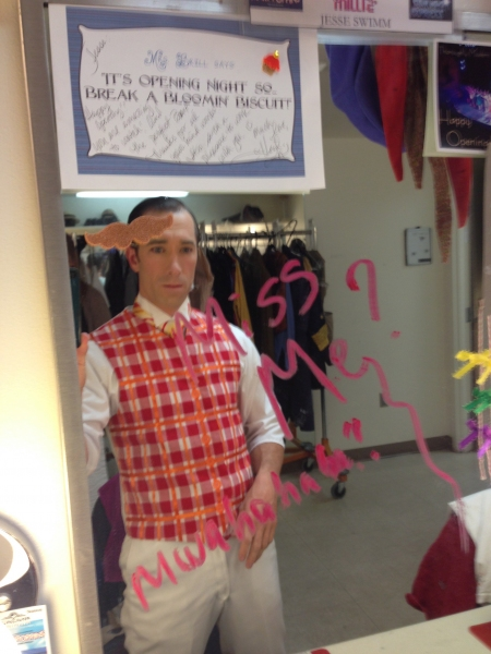 BWW Blog: Jesse Swimm of Tuacahn's MARY POPPINS - Preshow Rituals and Backstage Shenanigans
