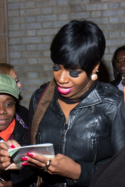 Photo Coverage: AFTER MIDNIGHT's Fantasia, Dule Hill & More Greet Fans at Stage Door